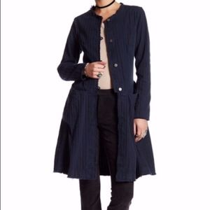 NEW Free People OB426783 fit & flare duster jacket